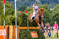 GBR-Piggy French rides Quarrycrest Echo during the SAP Cup - CICO4*-S Nations Cup Eventing Cross Country. Final-6th. 2019 GER-CHIO Aachen Weltfest des Pferdesports. Saturday 20 July. Copyright Photo: Libby Law Photography