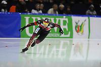 SCHAATSEN: HEERENVEEN: 14-12-2014, IJsstadion Thialf, ISU World Cup Speedskating, Nico Ihle (GER), ©foto Martin de Jong