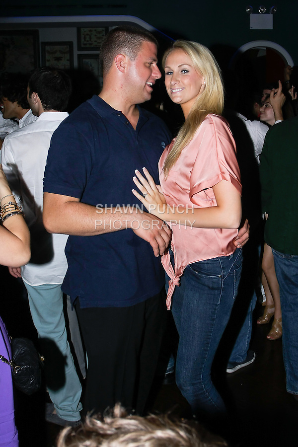 Club goers party at Hudson Terrace Night club, located at 621 West 46th Street, on July 23 2011.