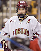 Chris Collins - The Boston College Eagles defeated the Northeastern University Huskies 5-2 in the opening game of the 2006 Beanpot at TD Banknorth Garden in Boston, MA, on February 6, 2006.
