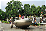 Le sculture di Kan Yasuda al Parco del Valentino