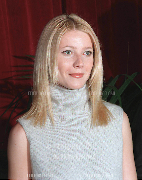 "08MAR99:  ""Shakespeare in Love"" star GWYNETH PALTROW at luncheon in Beverly Hills for this year's Academy Award nominees. .© Paul Smith / Featureflash"