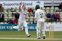 Sam Cook of Essex appeals for the wicket of Daryl Mitchell during Worcestershire CCC vs Essex CCC, Specsavers County Championship Division 1 Cricket at Blackfinch New Road on 11th May 2018