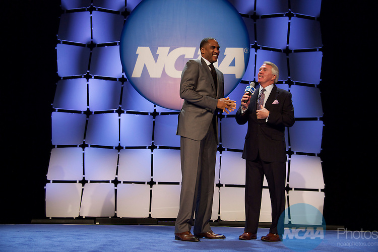 15 JAN 2016:  The NCAA Honor's Celebration takes place during the 2016 NCAA Convention at the Grand Hyatt San Antonio in San Antonio, TX.   Jamie Schwaberow/NCAA Photos  (Pictured:  Steve Smith)