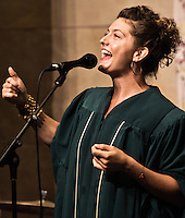 A host of New Orlean's finest musicians pay tribute to Mahalia Jackson in honor of her 100th birthday at the Ogden Museum in New Orleans, LA.