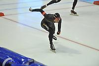 SCHAATSEN: HEERENVEEN: 27-12-2013, IJsstadion Thialf, KNSB Kwalificatie Toernooi (KKT), 500m, Ronald Mulder, ©foto Martin de Jong