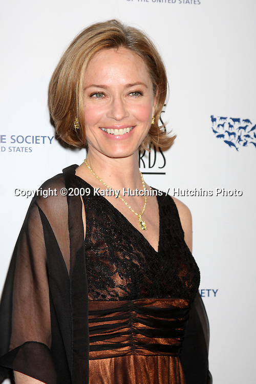 Susanna Thompson arriving at the Genesis Awads at the Beverly Hilton Hotel in Beverly Hills, CA  on March 28, 2009.©2009 Kathy Hutchins / Hutchins Photo....                .