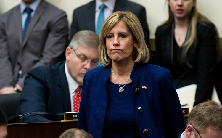 UNITED STATES - FEBRUARY 2: Rep. Claudia Tenney, R-N.Y., participates in the House Financial Services Committee meeting to organize for the 115th Congress on Thursday, Feb. 2, 2017. (Photo By Bill Clark/CQ Roll Call)