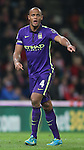 Vincent Kompany of Manchester City - Barclays Premier League - Stoke City vs Manchester City - Britannia Stadium - Stoke on Trent - England - 11th February 2015 - Picture Simon Bellis/Sportimage