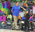 06.09.2014. Barcelona, Spain. 2014 FIBA Basketball World Cup, round of 16. Picture show Orlando Antigua  in action during game between Dominican Republic  v Slovenia  at Palau St. Jordi