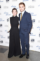 Helen McCrory &amp; Douglas Booth at the London Film Festival 2017 screening of &quot;Loving Vincent&quot; at the National Gallery, Trafalgar Square, London, UK. <br /> 09 October  2017<br /> Picture: Steve Vas/Featureflash/SilverHub 0208 004 5359 sales@silverhubmedia.com