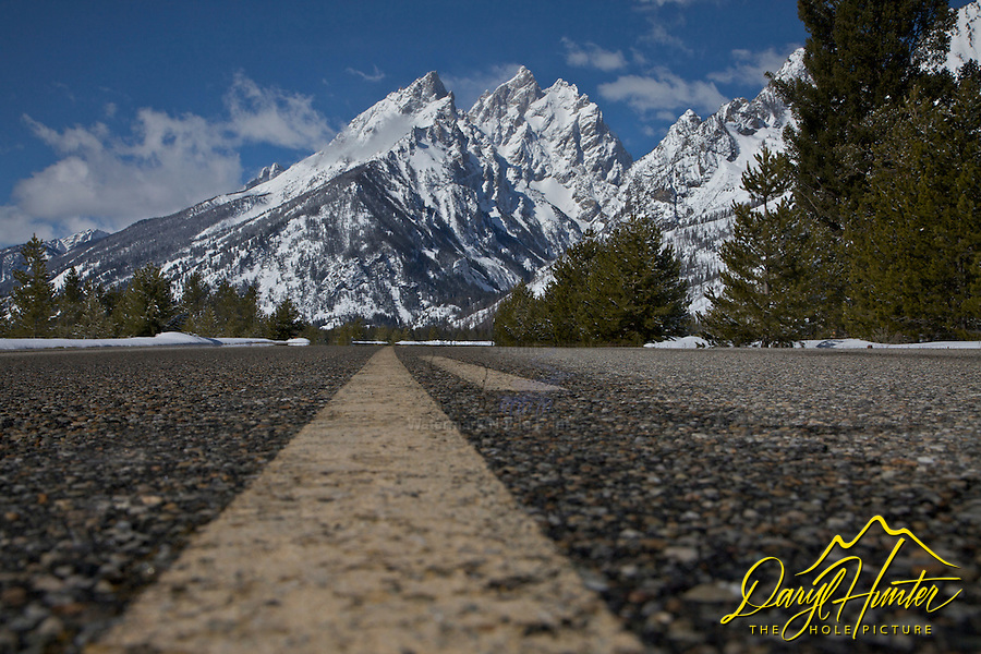 Road To The Grand Tetons, Grand Teton National Park