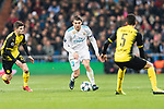 Mateo Kovacic of Real Madrid (C) in action during the Europe Champions League 2017-18 match between Real Madrid and Borussia Dortmund at Santiago Bernabeu Stadium on 06 December 2017 in Madrid Spain. Photo by Diego Gonzalez / Power Sport Images