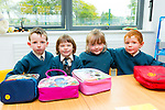 Double Trouble two sets of twins started in Ciara Curtin class in Nagle-Rice NS Milltown on Tuesday l-r: Emily and Cody Quirke with Laura and Darragh Murphy