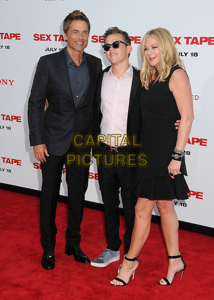 10 July 2014 - Westwood, California - Rob Lowe. &quot;Sex Tape&quot; Los Angeles Premiere held at the Regency Village Theatre. <br /> CAP/ADM/BP<br /> &copy;Byron Purvis/AdMedia/Capital Pictures