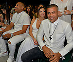 CORAL GABLES, FL - APRIL 28: Alexander Delgado and Randy Malcom Martinez of Gente de Zona attend the Billboard Latin Music Awards at the BanKUnited Center on Thursday April 28, 2016 in Coral Gables, Florida. ( Photo by Johnny Louis / jlnphotography.com )