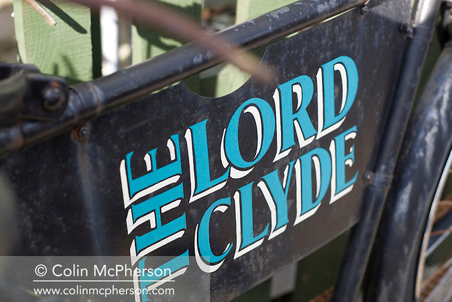 An advert for the Lord Clyde, a restaurant and bar situated in the Cheshire village of Kerridge, pictured as part of the newly-established Cheshire Food Trail.