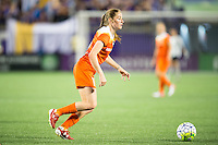 Orlando, Florida - Saturday, April 23, 2016: Houston Dash forward Janine Beckie (11) during an NWSL match between Orlando Pride and Houston Dash at the Orlando Citrus Bowl.