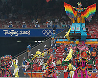 Pechino - Beijing 8/8/2008 Olimpiadi 2008 Olympic Games<br /> The Opening ceremony for the XXIX Olympic games.<br /> Cerimonia d'apertura delle Olimpiadi di Pechino 2008<br /> Foto Andrea Staccioli Insidefoto