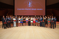 Stanford Athletic Department Athletics Board Awards, June 15, 2017