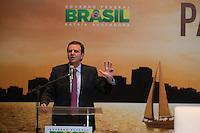 BRASILIA, DF, 07.10.2015 - DILMA-OLIMPICO -  O prefeito do Rio de Janeiro, Eduardo Paes,  durante a cerimônia Ano Olímpico para o Turismo, no  Centro de Convenções Ulysses Guimarães, nessa quarta-feira.(Foto:Ed Ferreira / Brazil Photo Press)