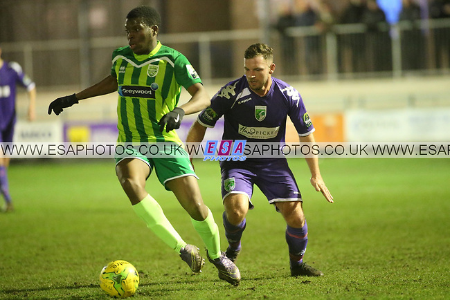 THAMESMEAD TOWN v GUERNSEY<br /> BOSTICK LEAGUE SOUTH<br /> WEDNESDAY 17TH JAN 2018<br /> PRINCESS PARK