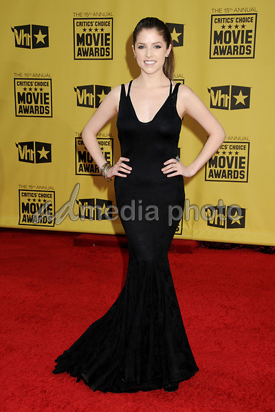15 January 2010 - Hollywood, California - Anna Kendrick. 15th Annual Critics' Choice Movie Awards - Arrivals held at the Hollywood Palladium. Photo Credit: Byron Purvis/AdMedia