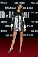 """LOS ANGELES - NOV 4:  Bianca Balti at the """"Ford v Ferrari"""" Premiere at TCL Chinese Theater IMAX on November 4, 2019 in Los Angeles, CA"""