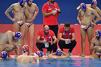 TUCAK Ivica coach of Croatia  <br /> Budapest 14/01/2020 Duna Arena <br /> CROATIA (white caps) Vs. GERMANY (blue caps) Men  <br /> XXXIV LEN European Water Polo Championships 2020<br /> Photo  © Andrea Staccioli / Deepbluemedia / Insidefoto