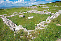 Photo of the Hittite  Palace Walls to the Hittite capital Hattusa 1