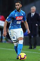 Faouzi Ghoulam Napoli<br /> Napoli 22-12-2018  Stadio San Paolo <br /> Football Campionato Serie A 2018/2019 <br /> Napoli - Spal<br /> Foto Cesare Purini / Insidefoto