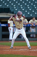 Brian Dempsey (6) of the Boston College Eagles at bat against the North Carolina Tar Heels in Game Five of the 2017 ACC Baseball Championship at Louisville Slugger Field on May 25, 2017 in Louisville, Kentucky. The Tar Heels defeated the Eagles 10-0 in a game called after 7 innings by the Mercy Rule. (Brian Westerholt/Four Seam Images)