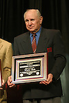 17 January 2004: Walter Bahr. The five surviving members of the US team that defeated England at the 1950 World Cup in Brazil were named honorary All-Americans at the Charlotte Convention Center in Charlotte, NC as part of the annual National Soccer Coaches Association of America convention..