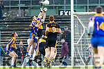 Dr Crokes in action against Adrian Spillane Kenmare District in the Senior County Football Championship final at Fitzgerald Stadium on Sunday.
