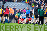 Kenmare team after being defeated by Ballinasloe in the Junior All Ireland Club Final in Croke park on Sunday.