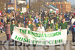Members from the Kingdom branch of the Irish Pony club who participated in the Castleisland parade on Tuesday