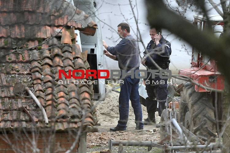 09.04.2013., Velika Ivanca, Serbia - Near small place called Mladenovca in Serbia Ljubisa Bogdanovic killed 13 people, 6 man, 6 woman and two year old child. After massacre he tried to kill himself and his wife. They are both transfered in hospital and are  in critical condition. Press have unofficial information thet his wife also died in hospital wich makes him murderer of 14 people. Police doesn't know what was his motive. <br /> Foto &copy;  nph / PIXSELL / Davor Javorovic