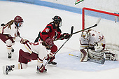 Kali Flanagan (BC - 10), Kenzie Kent (BC - 12), Denisa Krížová (NU - 41), Katie Burt (BC - 33) -  The Boston College Eagles defeated the Northeastern University Huskies 2-1 in overtime to win the 2017 Hockey East championship on Sunday, March 5, 2017, at Walter Brown Arena in Boston, Massachusetts.