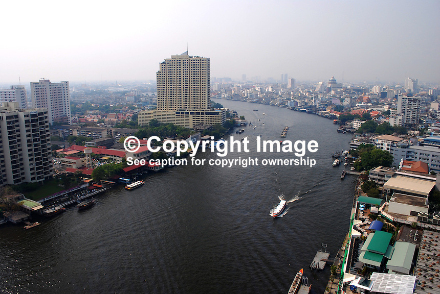 Bangkok, Thailand, on Chao Phraya River.  201003123217..Copyright Image from Victor Patterson, 54 Dorchester Park, Belfast, UK, BT9 6RJ..Tel: +44 28 9066 1296.Mob: +44 7802 353836.Voicemail +44 20 8816 7153.Skype: victorpattersonbelfast.Email: victorpatterson@mac.com.Email: victorpatterson@ireland.com (back-up)..IMPORTANT: If you wish to use this image or any other of my images please go to www.victorpatterson.com and click on the Terms & Conditions. Then contact me by email or phone with the reference number(s) of the image(s) concerned.
