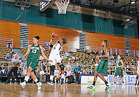 Florida International University forward Arielle Durant (25) plays against Stetson University in the first round of the NIT.  FIU won the game 75-47 on March 15, 2012 at Miami, Florida. .
