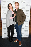 Katya and Neil Jones<br /> arriving for the Natural History Museum Ice Rink launch party 2017, London<br /> <br /> <br /> ©Ash Knotek  D3340  25/10/2017