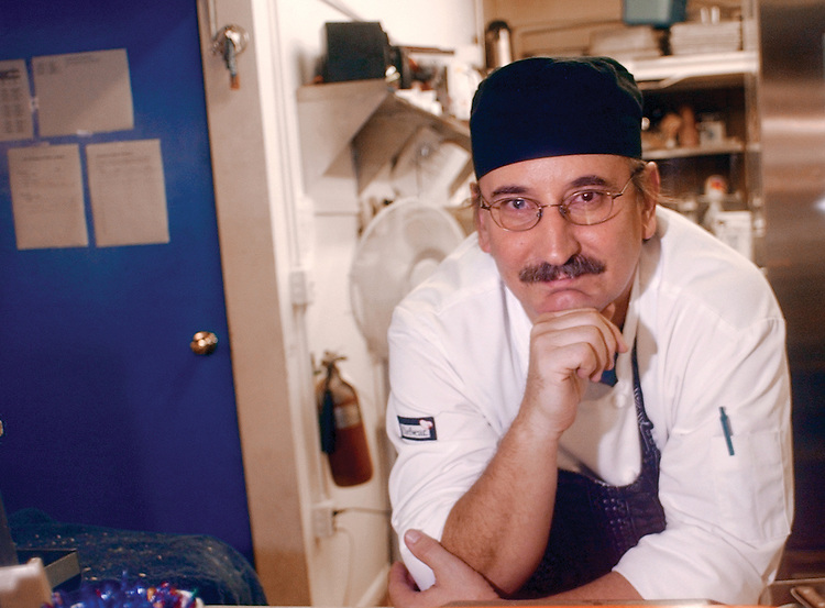 10/08/04--Charley Moseley, head chef at the Oasis.