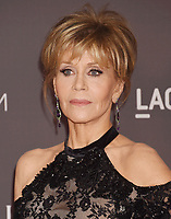 LOS ANGELES, CA - NOVEMBER 04: Actor Jane Fonda attends the 2017 LACMA Art + Film Gala Honoring Mark Bradford and George Lucas presented by Gucci at LACMA on November 4, 2017 in Los Angeles, California.<br /> CAP/ROT/TM<br /> &copy;TM/ROT/Capital Pictures
