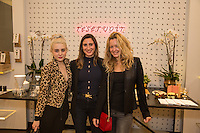 Alessandra Torresani, Tamara Goldstein and Aurora Tower attend the Reservoir Celebrates One-Year Anniversary with Cocktail Event and Opening of Second Floor Home Shop on Nov. 19, 2016 (Photo by Inae Bloom/Guest of a Guest)