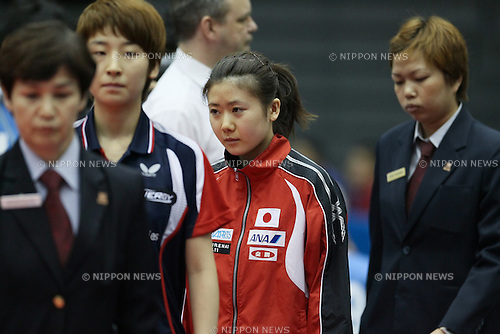 Ai Fukuhara (JPN), JULY 9, 2011 - Table Tennis : The Japan Open 2011, Women's Singles 2nd Round at Green Arena Kobe, Hyogo, Japan. (Photo by Akihiro Sugimoto/AFLO SPORT) [1080]