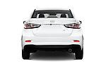 Straight rear view of 2016 Scion iA 4 Door Sedan Rear View  stock images