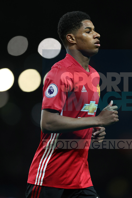 Marcus Rashford of Manchester United during the English Premier League match at The Etihad Stadium, Manchester. Picture date: April 27th, 2016. Photo credit should read: Lynne Cameron/Sportimage