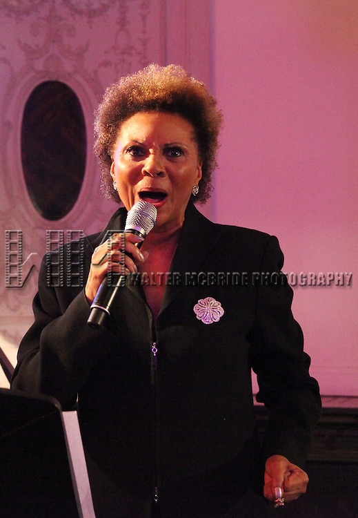 Leslie Uggams.attending the Broadway League and Coalition of Broadway Unions and Guilds Presentation of The 3rd Annual Broadway Salutes in New York City.