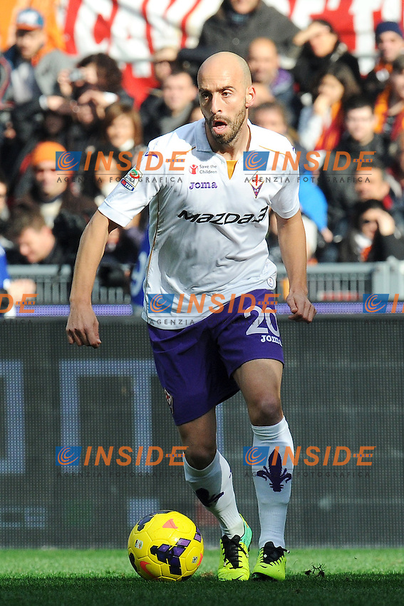 Borja Valero Fiorentina - Roma 08-12-2013 Stadio Olimpico - Football Calcio Serie A 2013/2014 AS Roma - Fiorentina - Foto Andrea Staccioli / Insidefoto