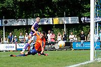 SURHUISTERVEEN - Voetbal, T Fean 58 - FC Groningen, voorbereiding seizoen 2018-2019, 07-07-2018,  FC Groningen speler Mimoun Mahi scoort 0-1